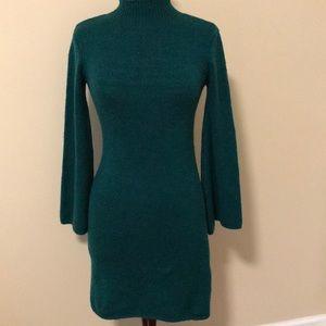 Bardot Tash Bell Sleeve Sweater Dress